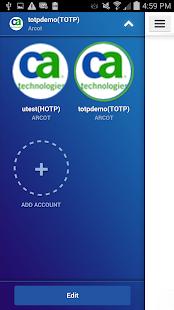CA Mobile OTP - screenshot thumbnail