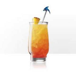 Twisted Island Breeze (Parrot Bay Pineapple Wave Runner)