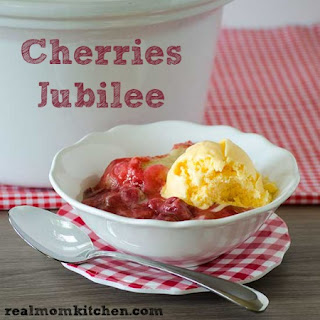 Cherries Jubilee and the WeMo Crock-Pot® Smart Slow Cooker
