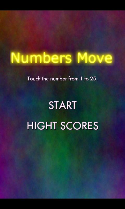 Numbers Move - screenshot