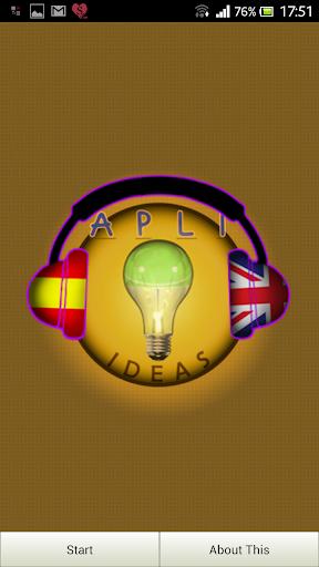 I learn English Spanish Adv1