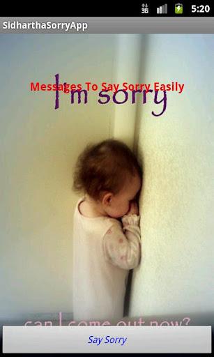 Best Sorry App