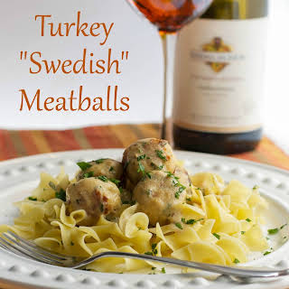Turkey Swedish Meatballs.