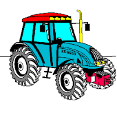 Coloring book Tractor Series