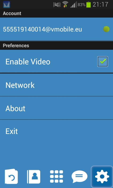 VMobile Talk : Free Calls - screenshot