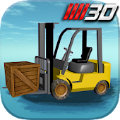 3D Forklift Parking Driving