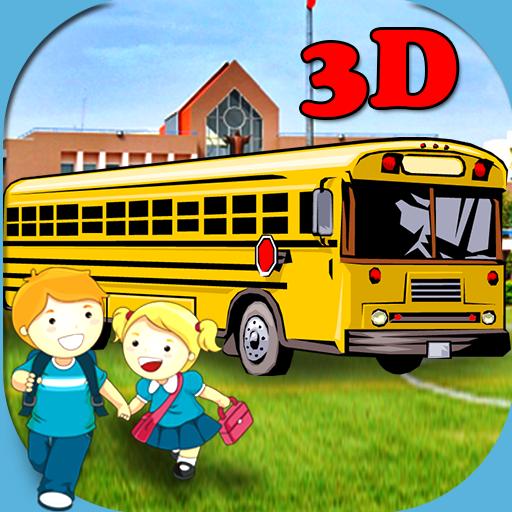 3D School Bus Driving LOGO-APP點子