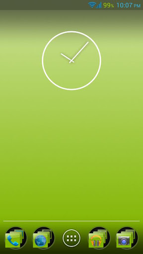 【免費個人化App】Green Sky Apex Theme-APP點子