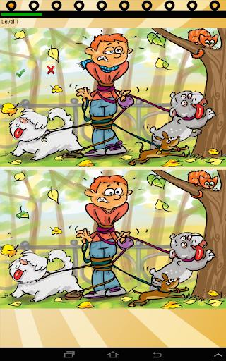 Find ten differences animals