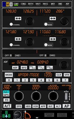 PW372 Radio Stack FSX P3D Demo - screenshot