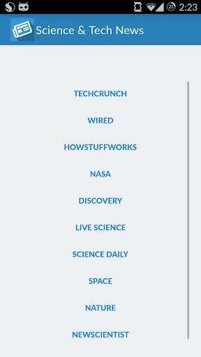 Science Tech News