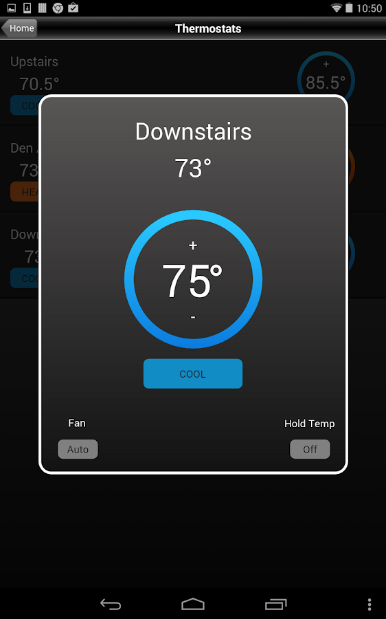 iControl OpenHome - screenshot