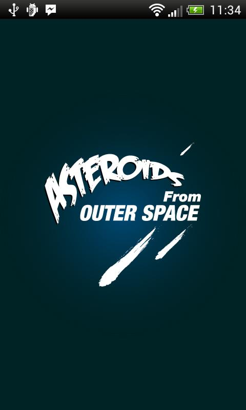 Asteroids from Outer Space! - screenshot