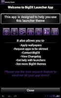 Screenshot of Serenity Launcher Theme Purple