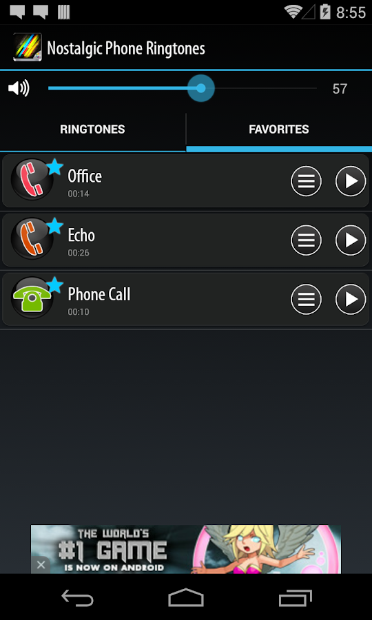 Nostalgic Phone Ringtones - screenshot