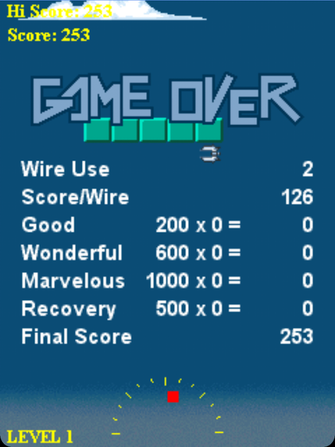 Wire Hang - screenshot
