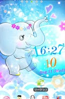 Screenshot of Elephant LiveWallpaper Trial