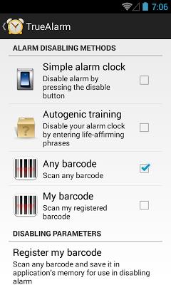 Alarm Clock free - screenshot