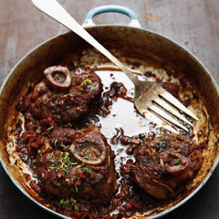 Osso Buco (Braised Veal Shanks).