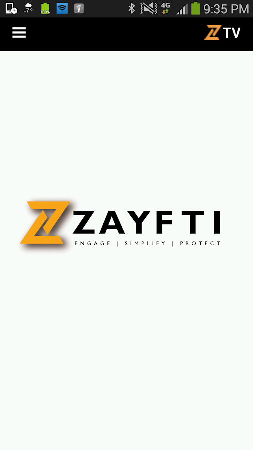Zayfti- screenshot