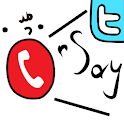 OnSay for Twitter -SNS Phone- logo