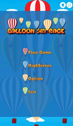 Balloon Sky Race
