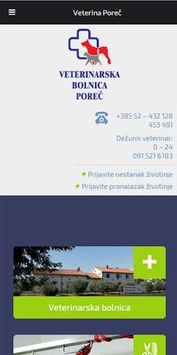 Aplikacija Veterina Poreč