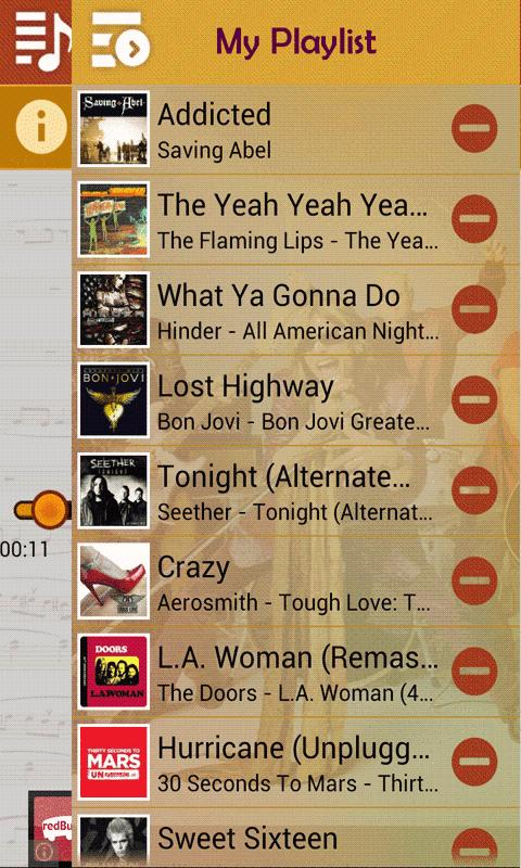 International Rock Hits - screenshot