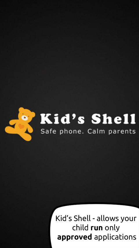 Kid's Shell - Parental Control - screenshot