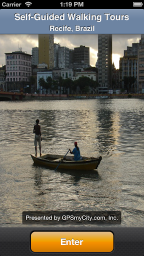 Recife Map and Walks