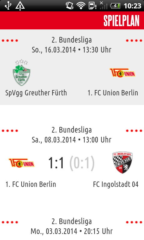 1. FC Union Berlin - screenshot