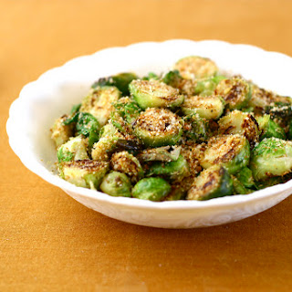 Brussels Sprouts with Toasted Breadcrumbs, Parmesan and Lemon.