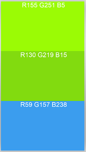 RGB Color Combo Generator