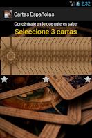 Screenshot of Cartas Españolas