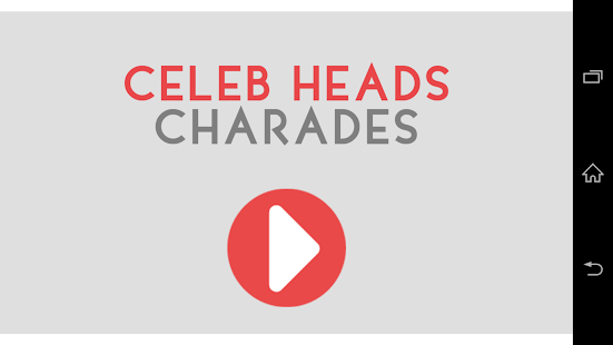 Celeb Heads Up Charades! - screenshot thumbnail