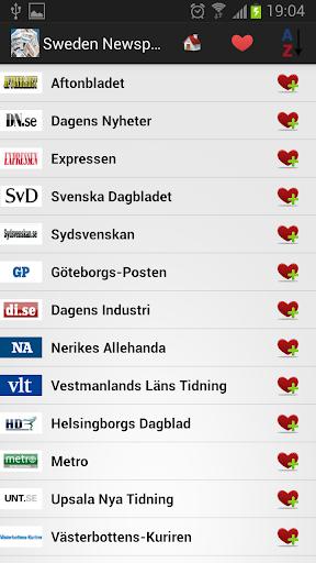 瑞典的报纸和新闻
