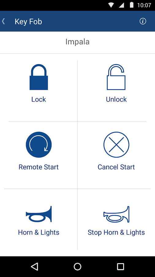 OnStar RemoteLink- screenshot