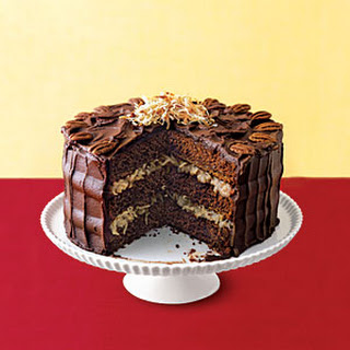German Chocolate Cake.