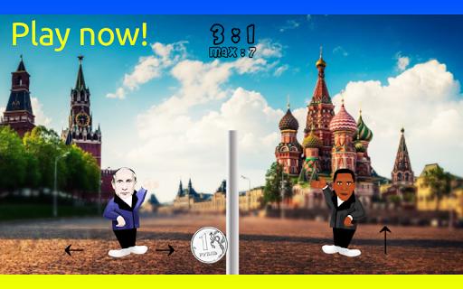 Putin vs Obama 2015