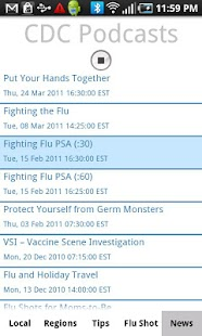 Flu Tracker - screenshot thumbnail