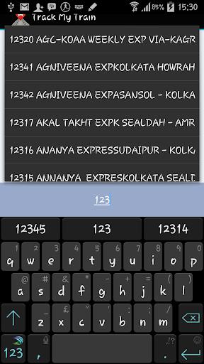 Track My Train Indian Railways