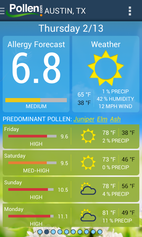 Allergy Alert by Pollen.com - Android Apps on Google Play