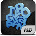Typography HD icon