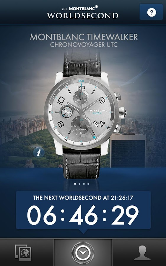 The Montblanc Worldsecond - screenshot