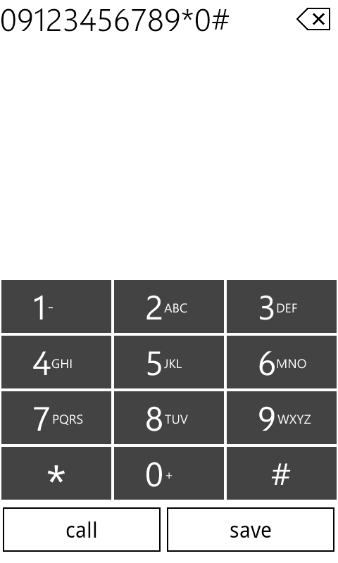 WP7Contact Lite- screenshot