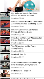【免費健康App】Hip Exercises-APP點子