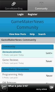 GameMakerNews - screenshot thumbnail