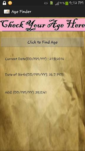 玩免費工具APP|下載Age Finder app不用錢|硬是要APP