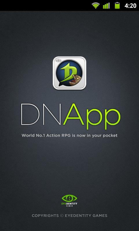 Introducing DNapp - screenshot