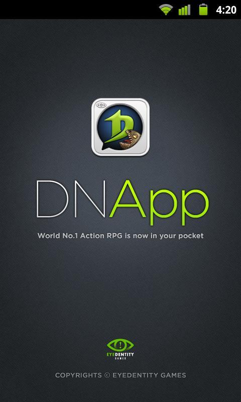 Introducing DNapp - screenshot